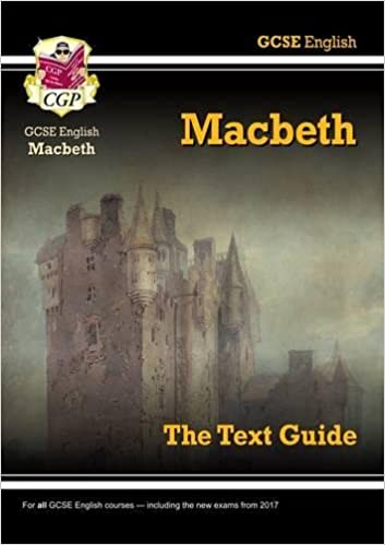 gcse english shakespeare text guide macbeth amazon co uk cgp  gcse english shakespeare text guide macbeth amazon co uk cgp books 8601200716801 books