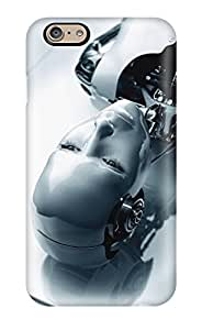 High Quality ZippyDoritEduard Human Robot Skin Case Cover Specially Designed For Iphone - 6