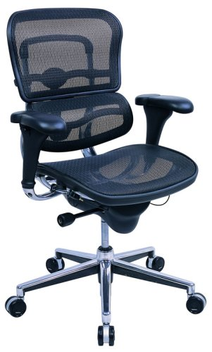 Ergohuman ME8ERG Mid-back All Mesh Ergonomic Chair ()