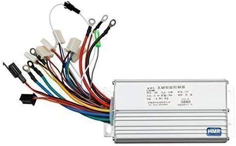 36V 500W Motor Brushed Controller Steuergerät für ElektroRoller E-Bike Alu