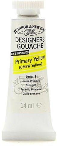 Winsor & Newton Designers' Gouache (Primary Yellow) 1 pcs sku# 1875050MA