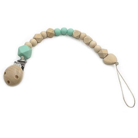 Amazon.com: m·kvfa Chupete de bebé con cadena de clip de ...