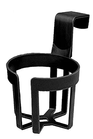 Custom Accessories 92200 Black Large Cup Holder, (Twin Pack)