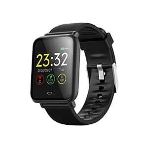 UKCOCO Q9 Smart Watch Band, IP67 Life Monitor de presión Arterial ...