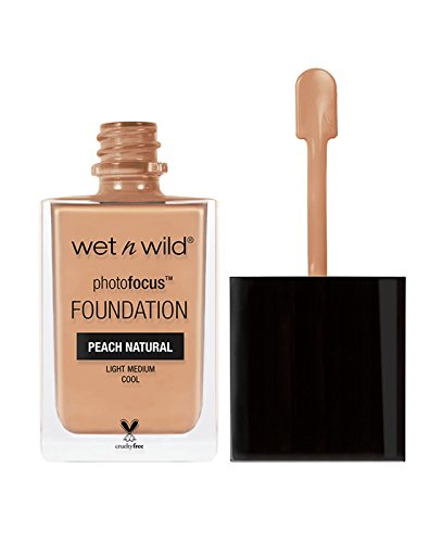 wet n wild Photo Focus Foundation, Peach Natural, 1 Ounce