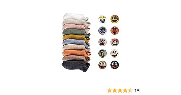 10 pares//juego calcetines con estampado de dibujos animados para beb/és y ni/ñas DEYOU Calcetines de beb/é