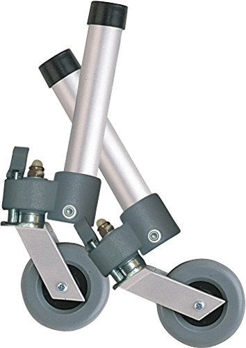 Drive Medical Swivel Wheels, Folding Walker, Lockable by Drive Medical (Image #2)