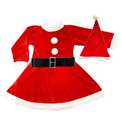 Disfraz de Mama Noel para Niña, Varias Tallas