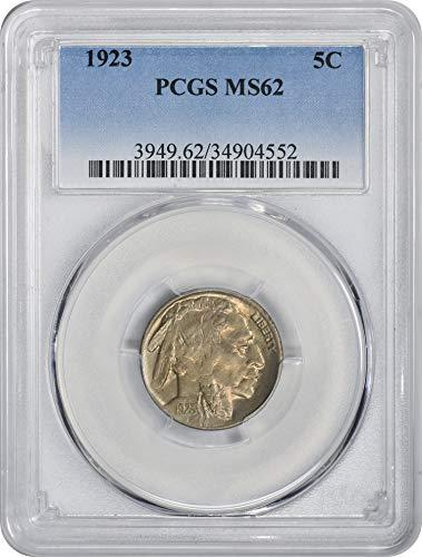 1923 Buffalo Nickel MS62 PCGS