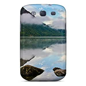 Galaxy S3 Case Cover Shining Lake Case - Eco-friendly Packaging