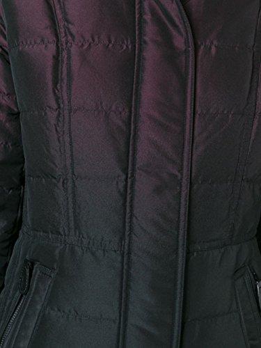 Burberry Mujer 3976205 Burdeos/Negro Poliéster Plumífero