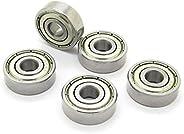 Skateboard Bearings Steel Miniature Deep Groove Ball Bearing