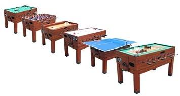 Playcraft Danbury 14 In 1 Multi Game Table Cherry Amazoncouk