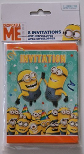 Despicable Me Minion Party (Minion Invitations)