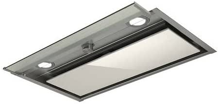 Elica BOX IN PLUX IXGL/A/90 625 m³/h Encastrada Acero inoxidable, Blanco - Campana (625 m³/h, Canalizado, 48 dB, 68 dB, Encastrada, Acero inoxidable, Blanco): 414.43: Amazon.es: Hogar
