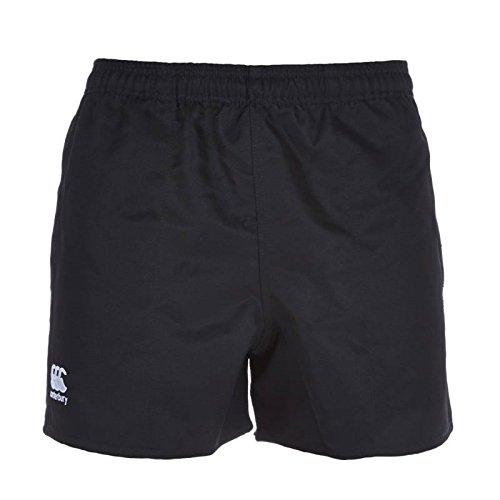 (Canterbury Adult 247 Professional Shorts, Black, Small)