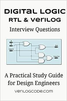 Book Digital Logic RTL & Verilog Interview Questions