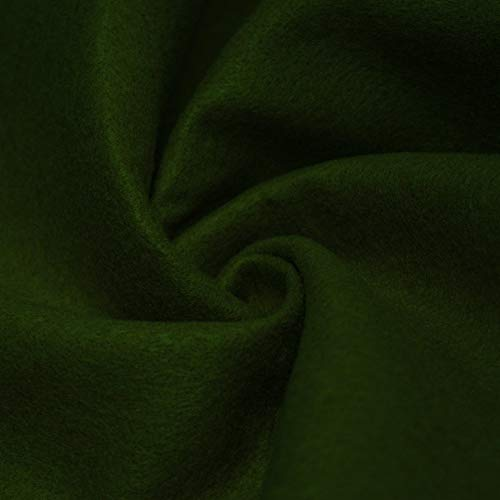 AK TRADING CO. 72-Inch Wide 1/16″ Thick Acrylic Felt Fabric for Arts & Crafts, Cushion and Padding, Sewing Projects, Kids School Projects, DIY Projects & More. – Deep Hunter Green, 20 Yards
