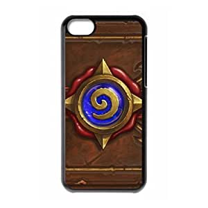 iphone5c case , Hearthstone Heroes Of Warcraft iphone5c Cell phone case Black-YYTFG-16917