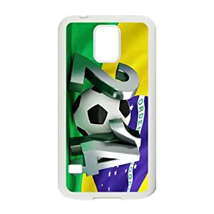 HUAH FIFA World Cup Brazil 2014 Cell Phone Case for Samsung Galaxy S5