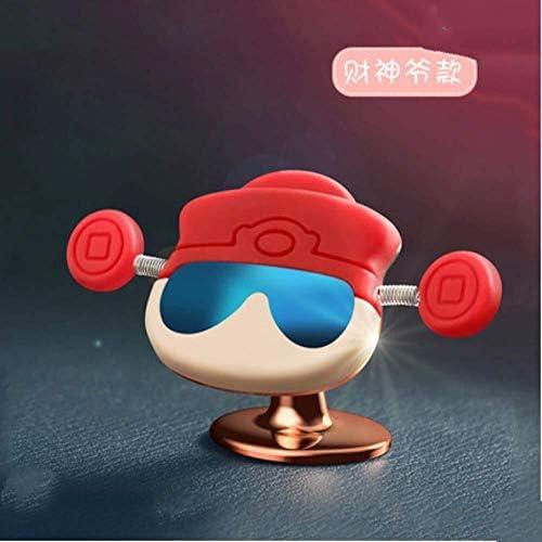 Q自動車電話ホルダー自動車電話ホルダーカーマグネット磁気ナビゲーション支援、女性の車のセンターコンソール