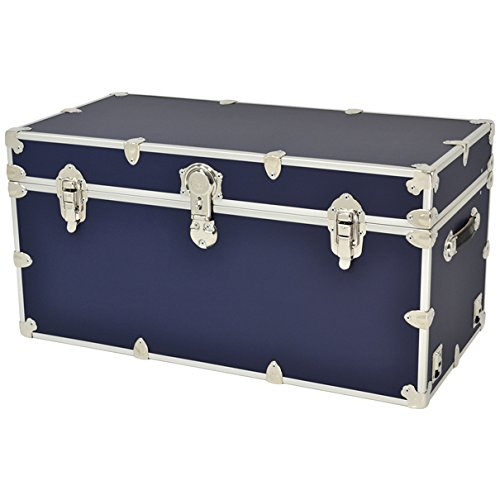 Rhino Trunks - XXL Sticker Camp & College Trunk with Wheels & Tray - 36