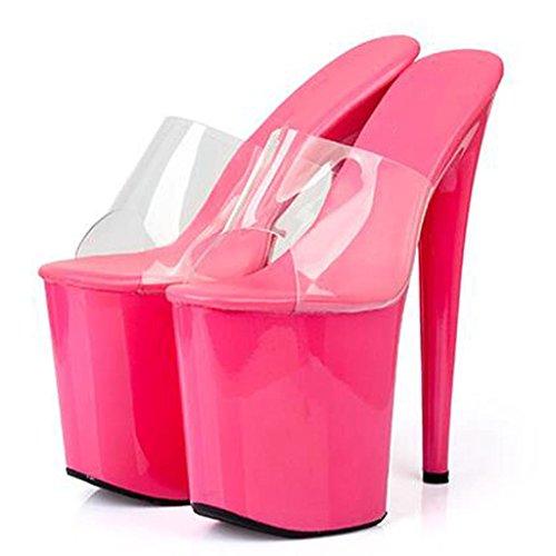 Alto Lavoro C Delle Modello Di Cristallo Fondo Tallone Ballo Eccellente Donne Calza Spesso Sandali Sala Da I Di 1ROq5Rxw