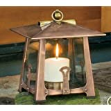 H Potter Decorative Patio Candle Lantern Holder Indoor Outdoor Small