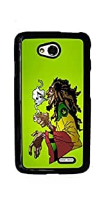 Marijuana Kush Weed Hard Case for LG Optimus L70 ( Sugar Skull )