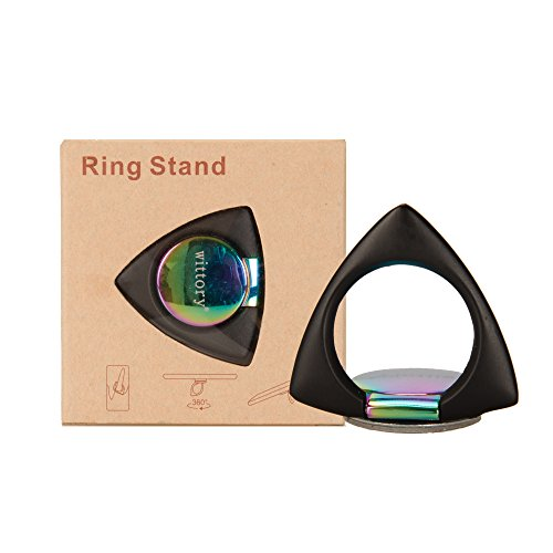 (Triangular cell phone ring bracket 360°free rotation, suitable for cell phones like iphone, Samsung, Huawei, Sony, and BlackBerry.)