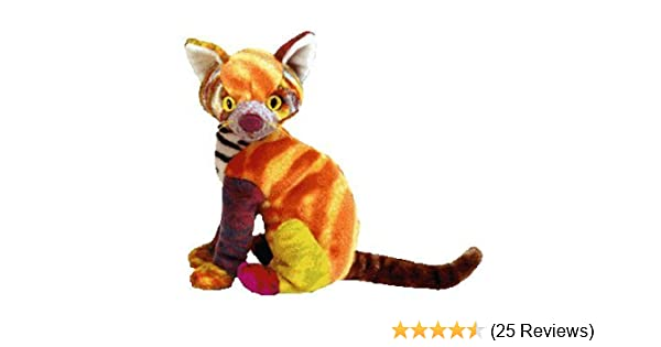 c2769ab333c Amazon.com  TY Beanie Baby - KALEIDOSCOPE the Cat  Toys   Games