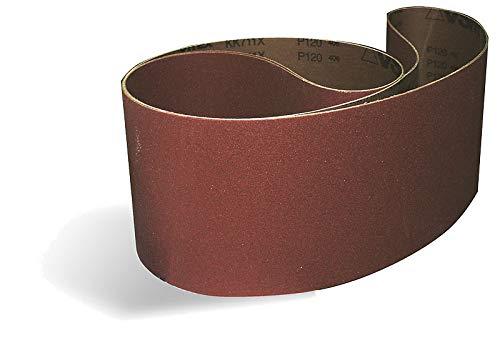 Sanding Belt, 3 x 78-3/4 in, 80 Grit