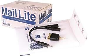Mail Lite Jiffy A000 - Paquete de sobres acolchados (100 unidades, 110 x 160 mm), color blanco