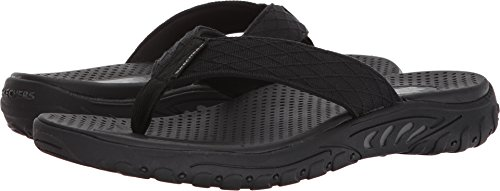 be4226377e7a Skechers Relaxed Fit Reggae Naleno Mens Flip Flop Sandals Black 13 ...
