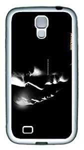 Samsung Galaxy S4 Case, S4 Case - Extremely Thin Soft Rubber Case Bumper for Samsung Galaxy S4 I9500 Prison Break Scratch-Proof White Rubber Case for Samsung Galaxy S4 I9500