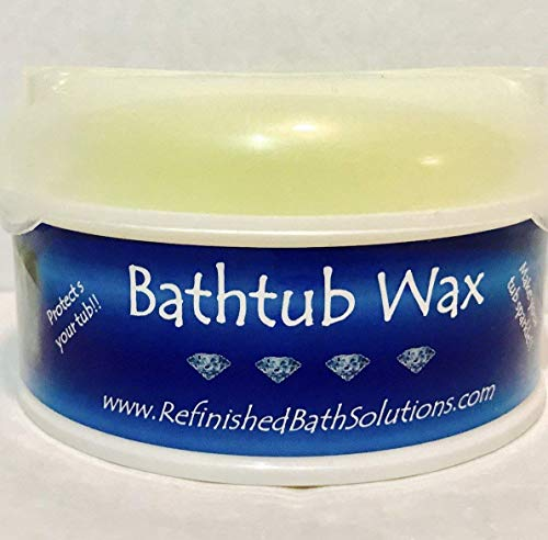 The Original Refinished Bathtub Wax - Best Tub Cleaner Polish - Best Polish To Protect Refinished Tub - Prolongs Tubs Life - Ekopel 2k's Prefered Wax