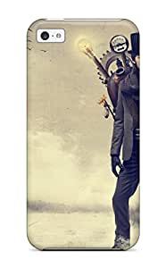 New Shockproof Protection Case Cover For Iphone 5c/ Steampunk Sci Fi Case Cover