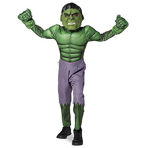 Marvel Hulk Costume for Kids Size 7/8 Green (Hulk Costumes For Kids)