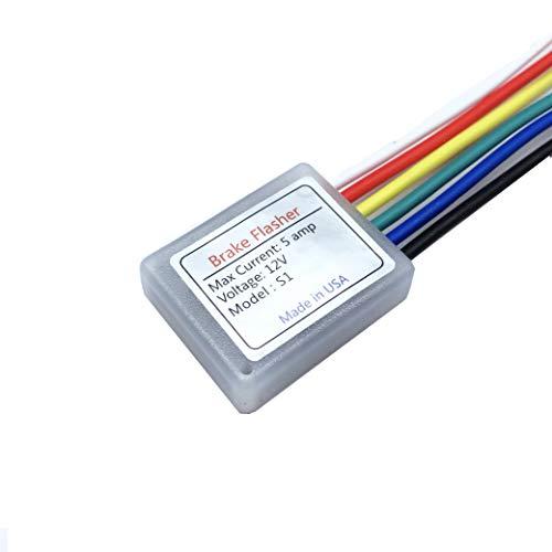 Brake Light Module - Brake light blinker, four flashes then solid. Safety Flash Light Alert. Universal