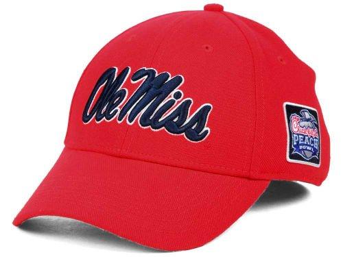Ole Miss True Swoosh Performance Flex Hat - Red