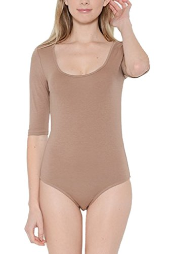 Womens Stretchy Bodysuit Leotard Colors product image