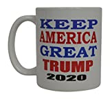 Donald Trump Coffee Mug Keep America Great Trump 2020 Novelty Cup President of The United States MAGA