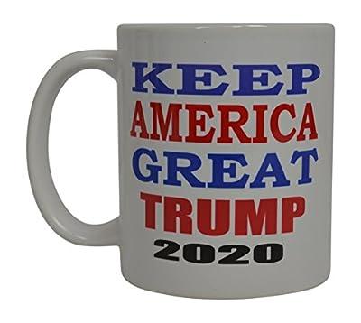 Donald Trump Coffee Mug Keep America Great Trump 2020 Novelty Cup President of The United States MAGA