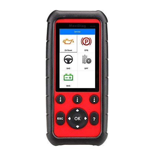 Autel MaxiDiag MD808 Diagnostic Scanner Tool for Engine, Transmission, SRS and ABS Systems with EPB, Oil Reset, DPF, SAS and BMS (Combination of MaxiCheck Pro and MD802) (Pressure Pro Tire Monitoring System Best Price)