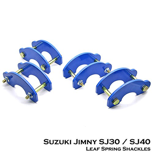 1 Set Front + Rear Lift Kit Leaf Spring Shackle For Suzuki Jimny Samurai SJ410/SJ413