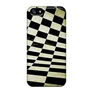 phone covers BestSellerWen High Quality Abstract Checkers Case For iPhone 5c / Perfect Case