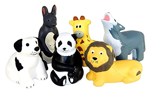 Assorted Animal Shaped Stress Squeezable product image