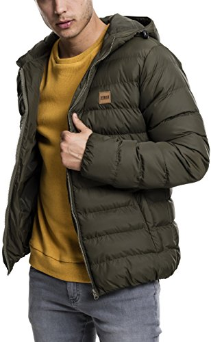 Jacket Bubble Giacca Urban Uomo army 01144 Basic Green Grün Classics tOgTw