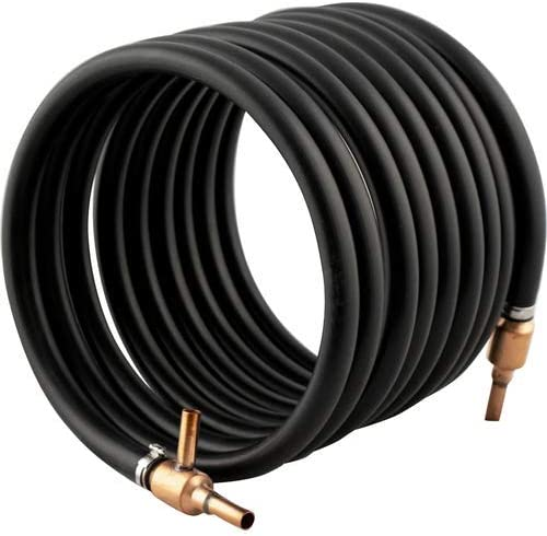 COUNTERFLOW WORT CHILLER Keg Land Efficient Copper Heat Exchanger ECO Base Model