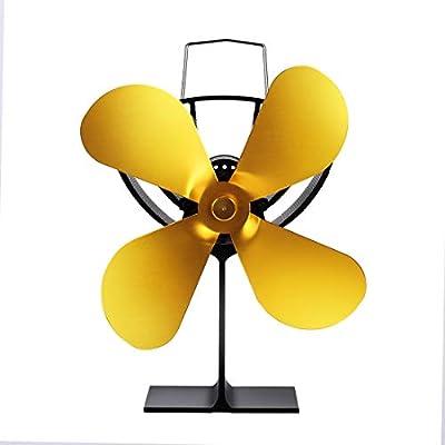 ANKIKI 4 Cuchillas Ventilador De Estufa Efficient Heat ...